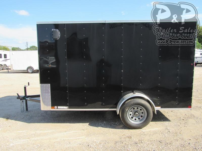 2021 Carry-On 6x12 CGRBN 12 ' Enclosed Cargo Trailer