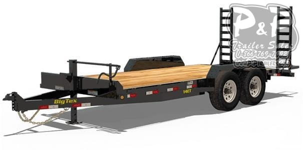 2021 Big Tex Trailers 14ET Equipment Trailer