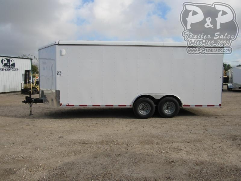 2021 Carry-On 8.5 X 20 CGRV-14K 20 ' Enclosed Cargo Trailer