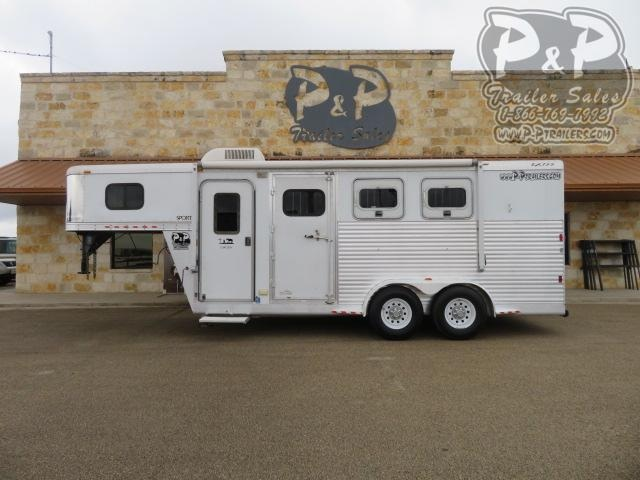 2006 Exiss Trailers 304 Sport 3 Horse Slant Load Trailer 4 FT LQ
