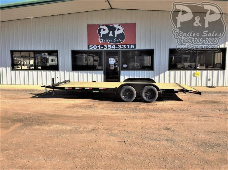 2021 Wicked Trailer Manufacturing CH8220TA 20 ' Utility Trailer