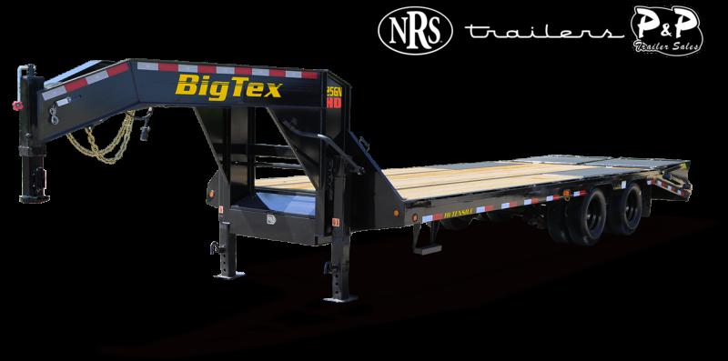 2021 Big Tex Trailers 25GN 35BK 5MR 40 Flatbed Trailer