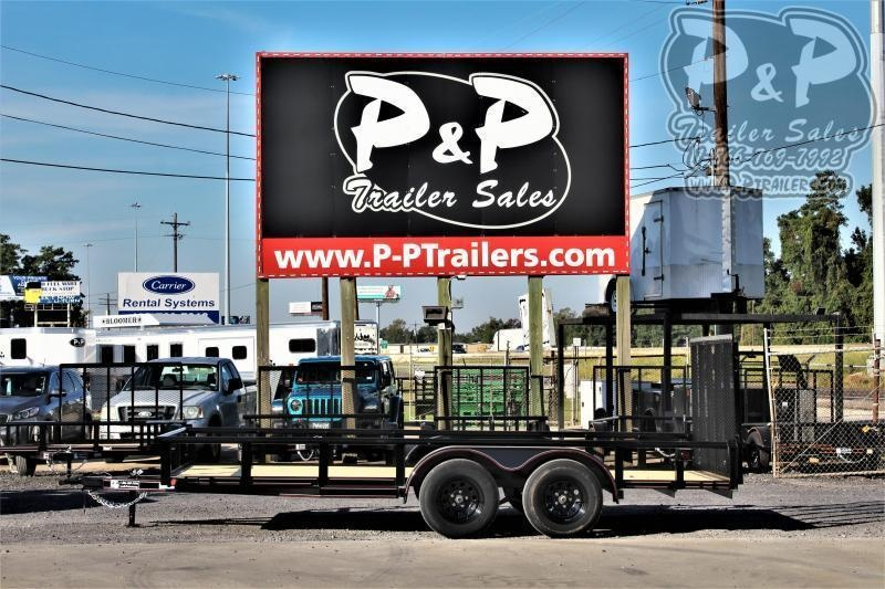 "2020 P and P PPTA16X83LDRGPT 83"" x 16 ' Utility Trailer"