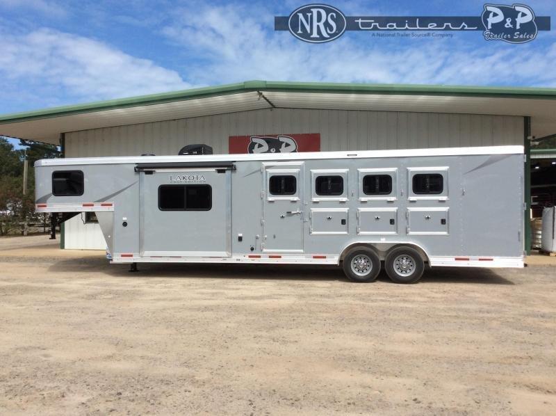 2021 Lakota Colt AC8411 4 Horse Slant Load Trailer 11 FT LQ w/ Slideouts