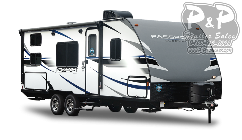 "2021 Keystone RV Passport 267BH 359 "" Travel Trailer RV"