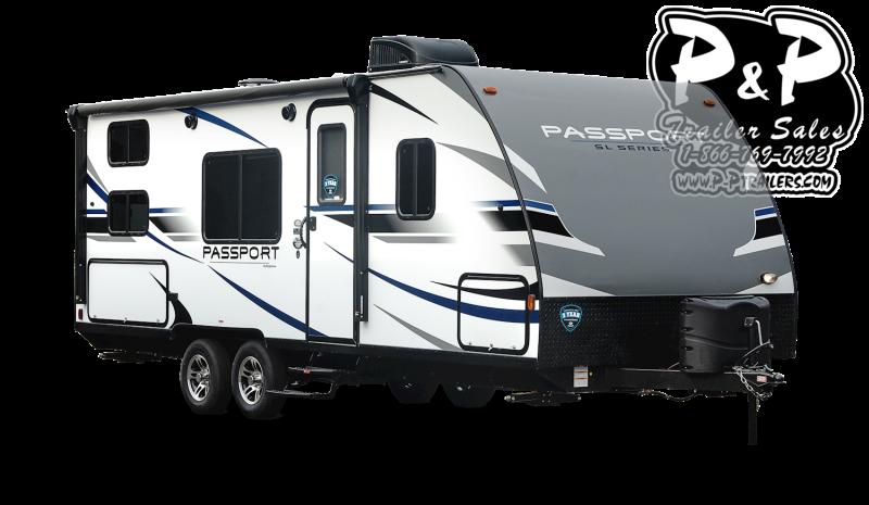 "2021 Keystone RV Passport 267BH 359 "" Travel Trailer RV"