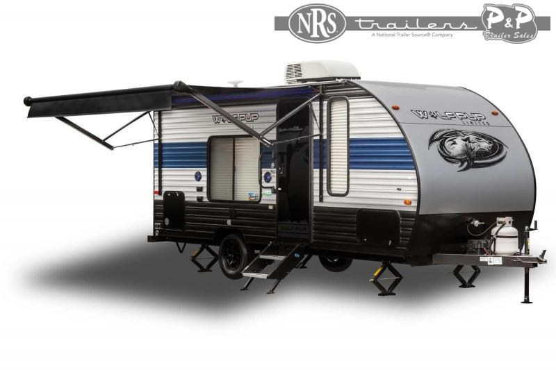 2022 Forest River Wolf Pup 14CC 19 ' Travel Trailer RV