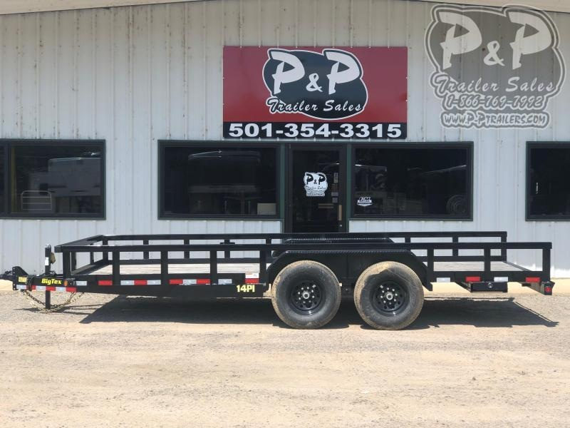 2021 Big Tex Trailers 14PI-18BK Utility Trailer