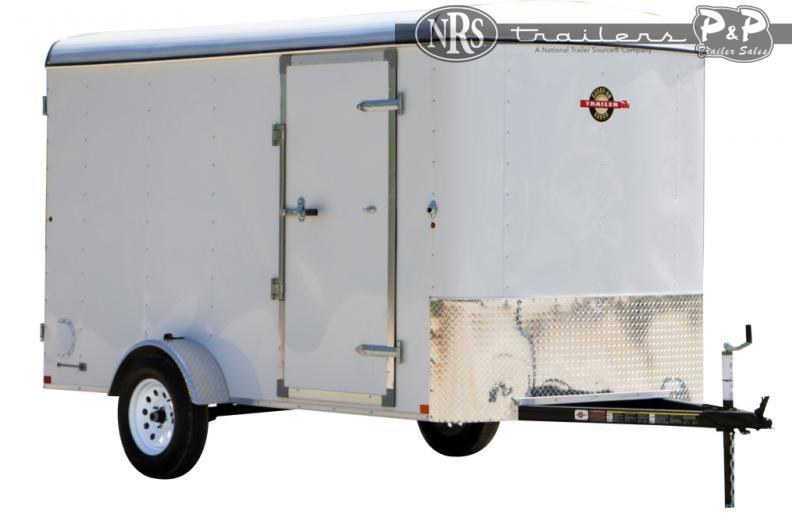 2021 Carry-On 6X10CGR 168 ' Enclosed Cargo Trailer