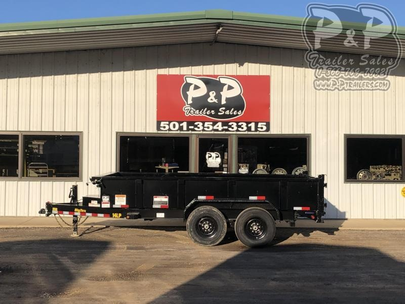 2021 Big Tex Trailers 14LD-14BK6SIRPD Dump Trailer