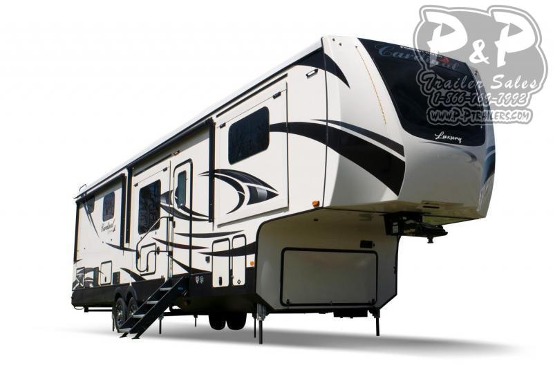 """2021 Forest River Cardinal Luxury 370FLX 499 """" Fifth Wheel Campers RV"""