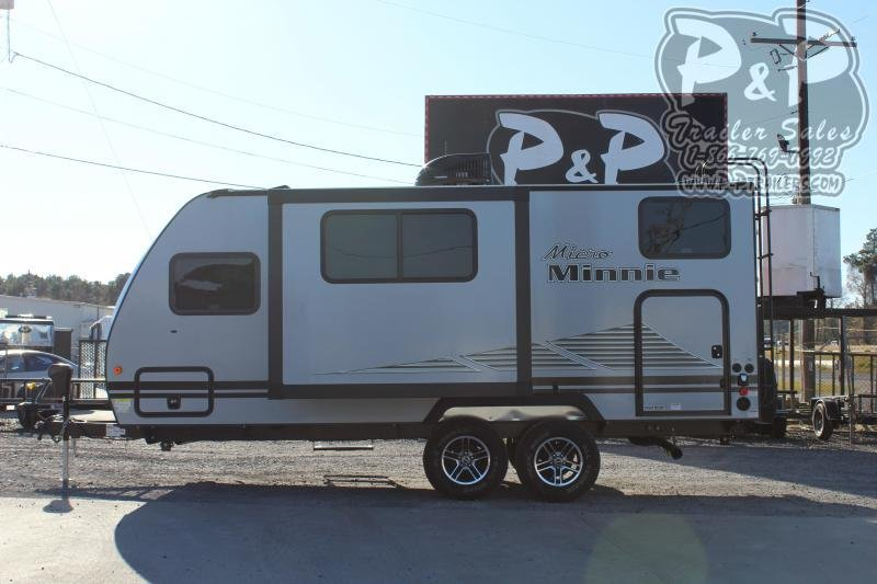 "2020 Winnebago Micro Minnie 2100BH 21'11"" ft Travel Trailer RV"