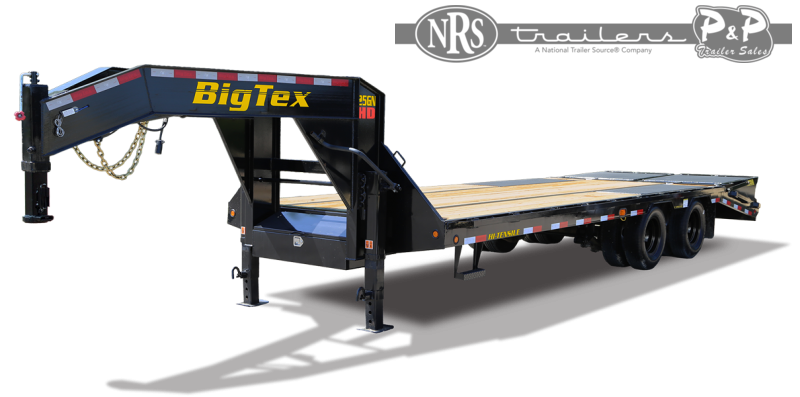 2022 Big Tex Trailers 25GN-35BK+5MR 40 ' Flatbed Trailer