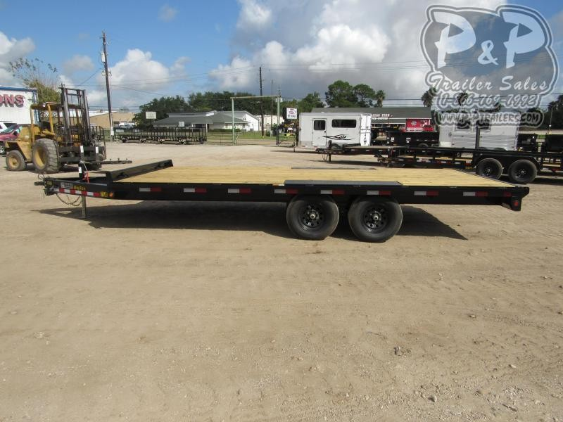 2021 Big Tex Trailers 10OA-18BK-8SIR 18 ' Flatbed Trailer