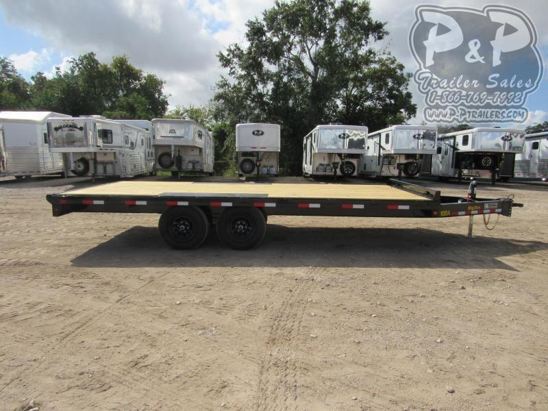2021 Big Tex Trailers 10OA-18BK-8SIR 18 ' Flatbed Trailer
