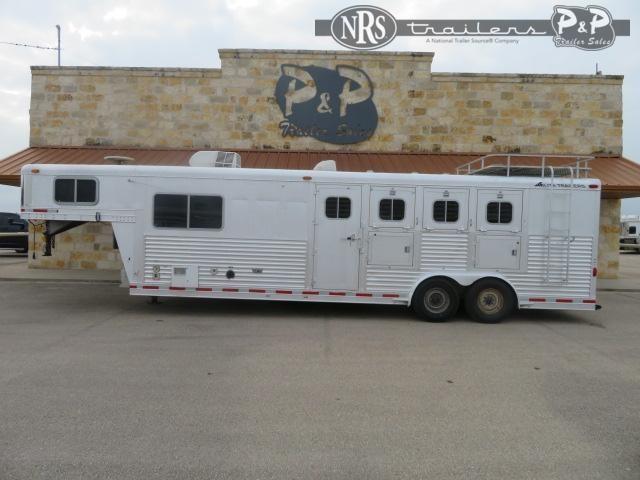 1998 Elite Trailers 8412 4 Horse Slant Load Trailer 12 FT LQ