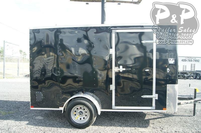 2021 Carry-On 6X12CGRBN Enclosed Cargo Trailer