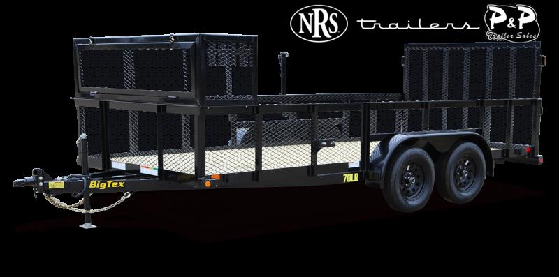 2021 Big Tex Trailers 70LR 16BK P4 Utility Trailer