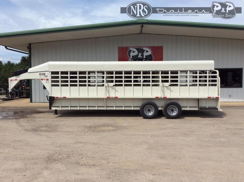 2021 Big Bend Gooseneck 7.2K 24 ' Livestock Trailer