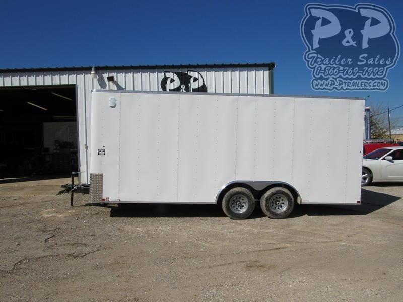 2021 Carry-On Cargo Trailers 8.5X20CGRBN Enclosed Cargo Trailer