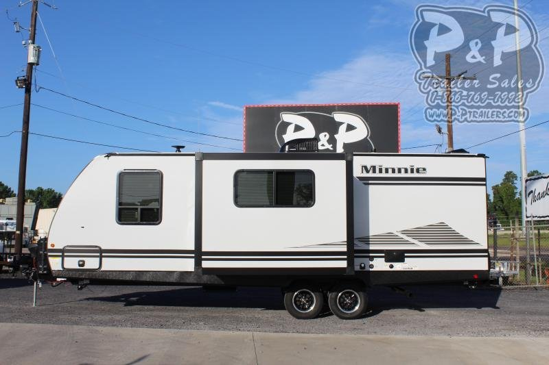 2021 Winnebago Minnie 2455BHS Travel Trailer RV