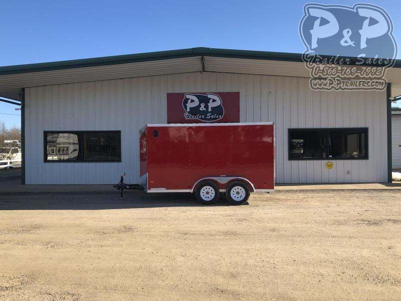 2021 RC Trailers 6X12TA2FTW 12 ' Enclosed Cargo Trailer
