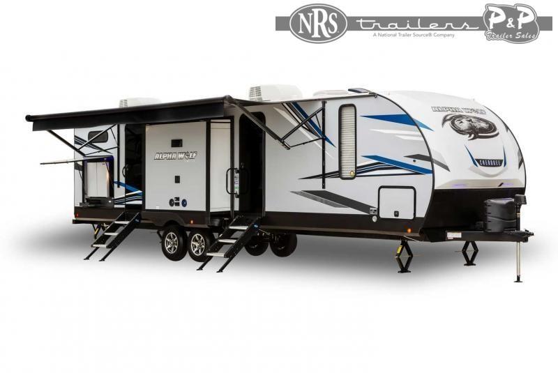 2022 Forest River Alpha Wolf 22SW-L 27 ' Travel Trailer RV