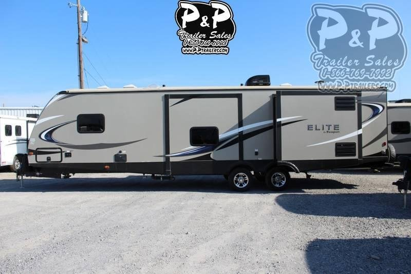 2018 Keystone Passport Elite 34MB 38.10 ft Travel Trailer RV