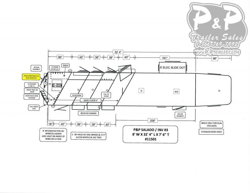 """2020 Bloomer PC Load Outlaw Conversions 4 Horse Slant Load Trailer 13' 2"""" FT LQ With Slides w/ Ramps"""