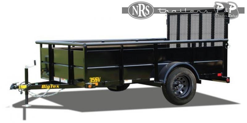 2021 Big Tex Trailers 35SV-12BK Single Axle Vanguard 12 ' Utility Trailer