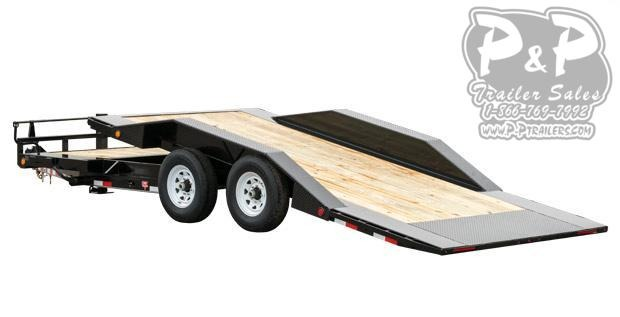 2021 PJ Trailers 6 Channel Super-Wide Tilt (TS) Flatbed Trailer