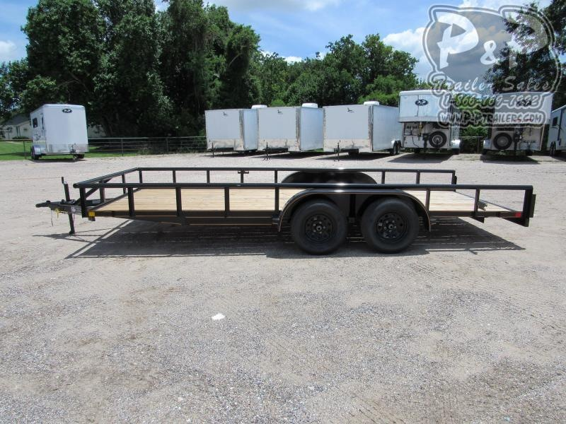 2021 P and P 18 X 83 PTTA Utility Trailer