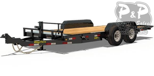 2021 Big Tex Trailers 14FT-18 Tilt Equipment Trailer