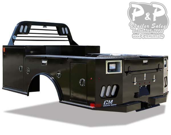 CM TM Deluxe Steel Tradesmen Body 9'4/94/60/34 Truck Bed