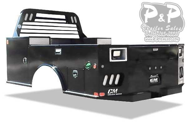 CM TM Steel Tradesmen Body 9'4/94/60/34 11 ' Truck Bed