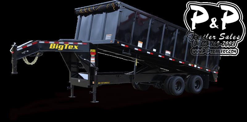 2021 Big Tex Trailers 25DU 20BK8SIR 20 Dump Trailer