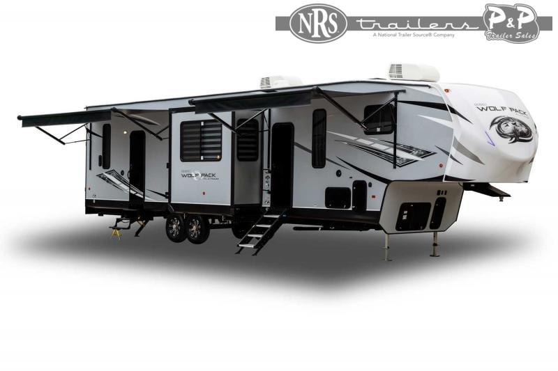 2022 Forest River Wolf Pack 365PACK16 43 ' Toy Hauler RV