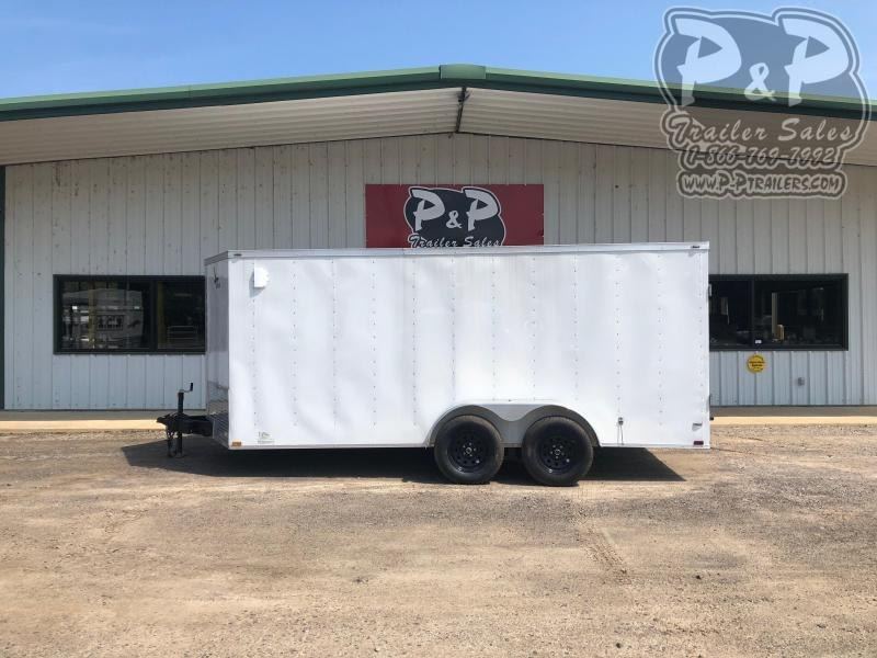 2021 Lark VT716TA Enclosed Cargo Trailer