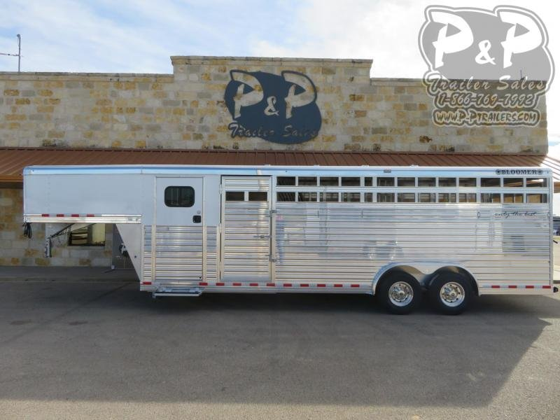 2021 Bloomer 24' Stock Combo w/ Super Tack Livestock Trailer