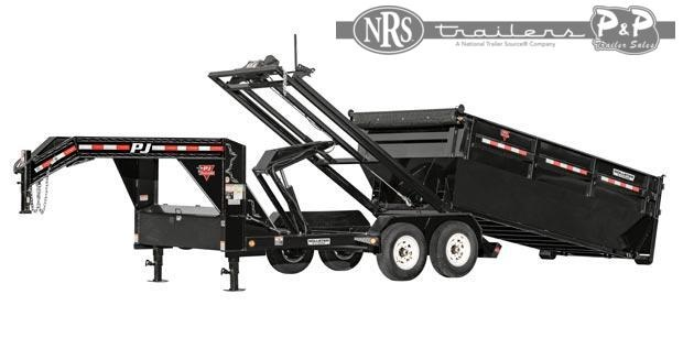 2021 PJ Trailers Rollster Roll-Off Dump (DR) 14 ' Dump Trailer