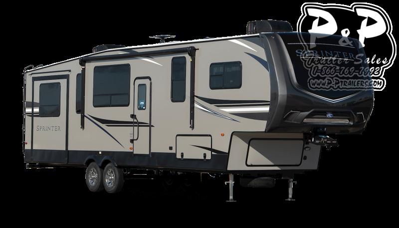 """2021 Keystone RV Sprinter LIMITED 3341FWFLS 454 """" Fifth Wheel Campers RV"""