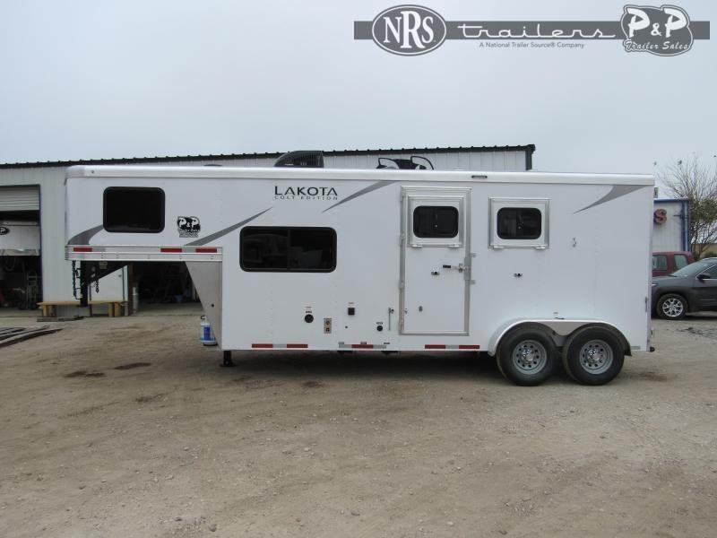 2022 Lakota Colt AC27NS 2 Horse Slant Load Trailer 7 FT LQ