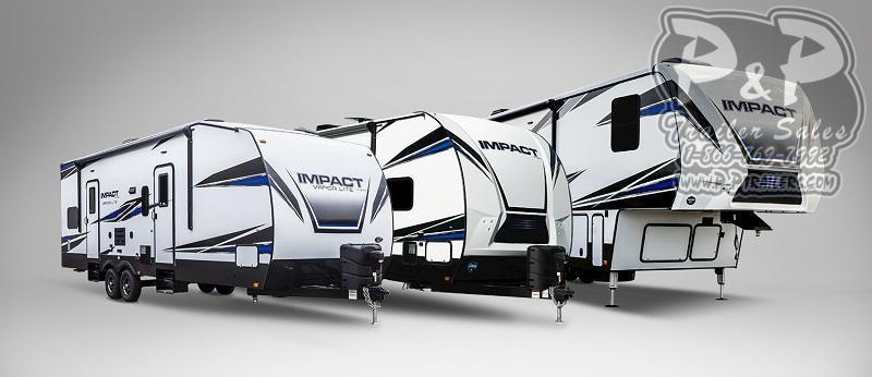 2020 Keystone Impact 367 TOY HAULER 40 ft Toy Hauler RV