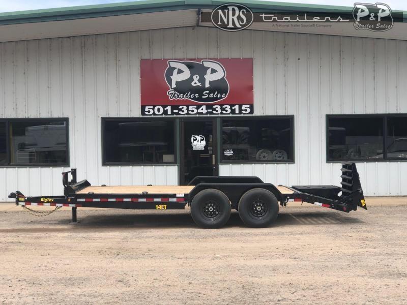 2022 Big Tex Trailers 14ET-18BK-MR 18 ' Equipment Trailer