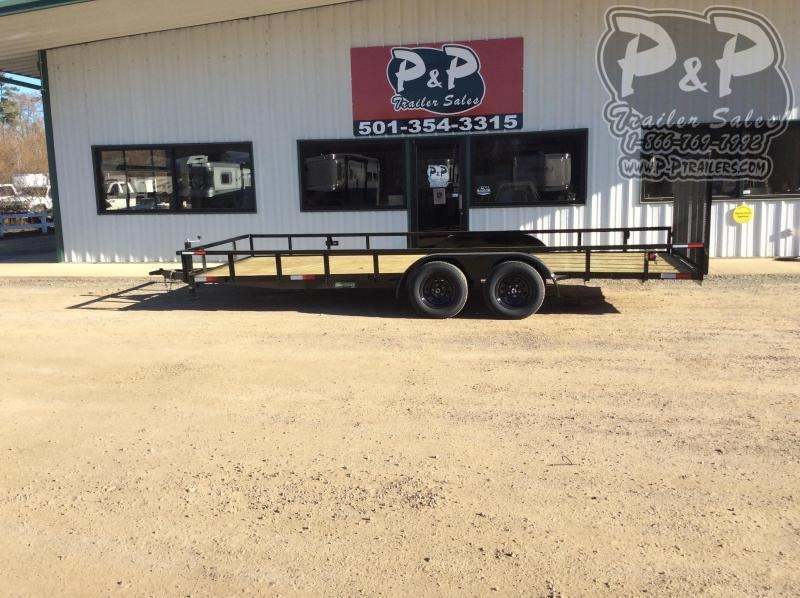 2020 Wicked Trailer Manufacturing UT8220TA 20 ' Utility Trailer
