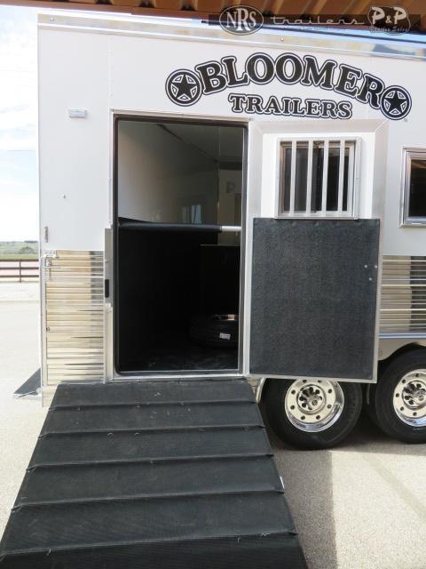 2021 Bloomer 8418PCOLCB 4 Horse Slant Load Trailer 18 FT LQ w/ Slideouts