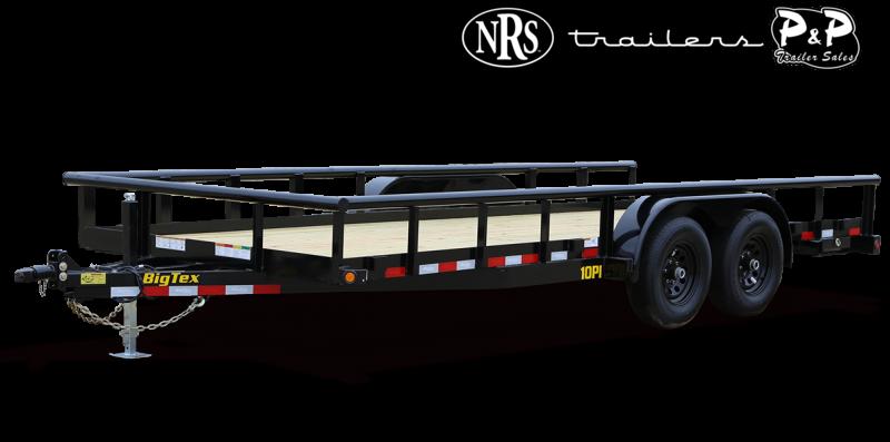 2022 Big Tex Trailers 10PI-20BK 20 ' Utility Trailer