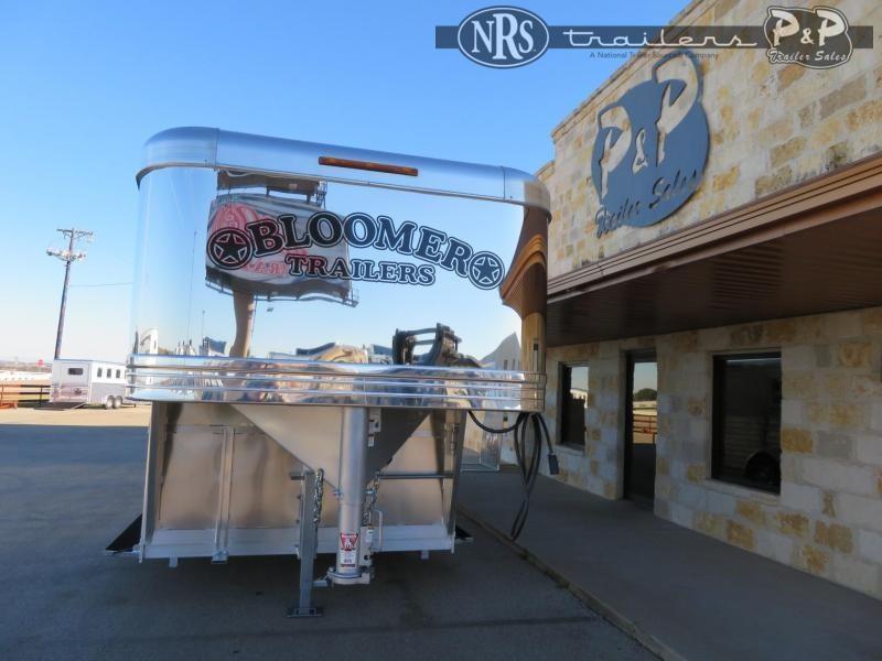 2021 Bloomer 7622STK 4 Horse Slant Load Trailer