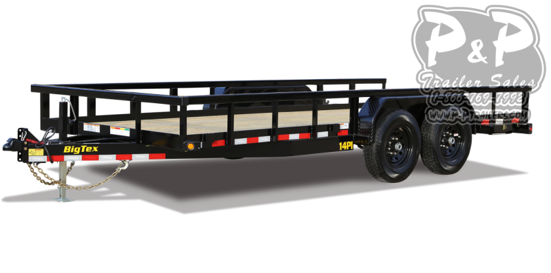 2021 Big Tex Trailers 14PI 20BK 20 Utility Trailer