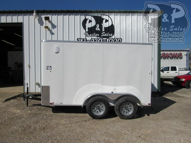 2021 Carry-On 6X12CGRCM7K 12 ' Enclosed Cargo Trailer